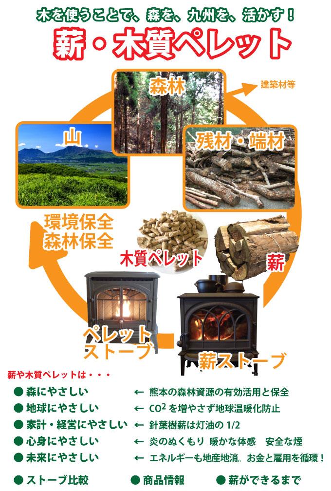 木を使うことで森を九州を活かす